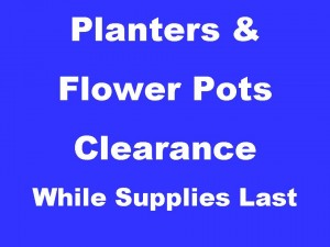 Planter Sale, Flower pots on sale, Interior Design Supply El Paso, Tx