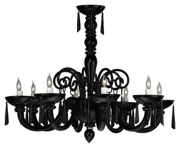Lighting Sale Showroom Quality El Paso Tx – Modern Black Chandelier